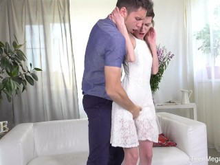 Preview 3 of Anal-Beauty.com - Nelya - Fresh sperm instead of dinner