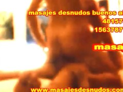 MASAJE DE PIJA CON BODY MASSAGE FRONTAL