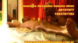 MASAJE DE PIJA CON BODY MASSAGE FRONTAL