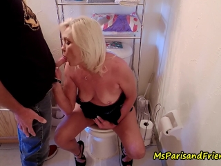 Ms Paris Rose in Cum on StepMommy's Tits