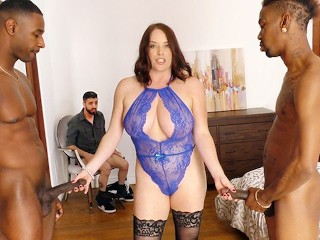 Girl wants to fuck a bigcock maggie green interracial threesome - cuckold sessions dogfartnetwork 3s