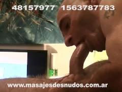 CHUPADA DE PIJA GARGANTA PROFUNDA EN SESION DE MASAJES SEX