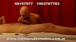 MASAJE FRONTAL PENEANO ORAL EN MASAJES DESNUDOS