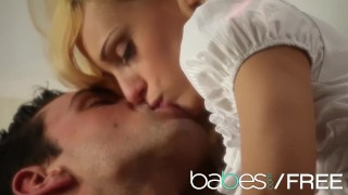 BABES - Blonde teen Erica Fontes loves big cock