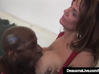 Texas Cougar Deauxma & Colombian Ariella Ferrera Share BBC!