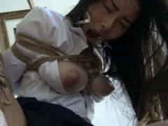 FULL VIDEO! Kinbaku - Me suffering in rope and shared an intense moment