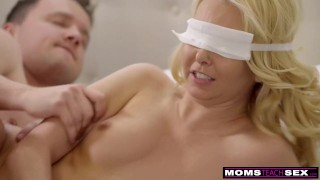 Horny Boy Tricks Step Mother Into Handjob And Hot Fuck S8:E5 Dad familystrokes
