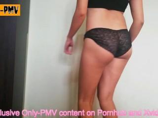 PMV Mark Ronson - Uptown Funk | Teen shows her perfect ass when she dances
