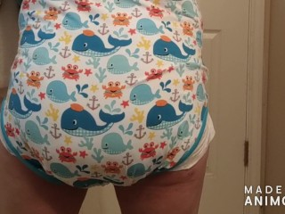 Onesie Diaper Messing
