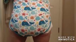Onesie Diaper Messing