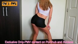 PMV Taylor Swift - Shake It Off | Teen in yoga panties dances after class