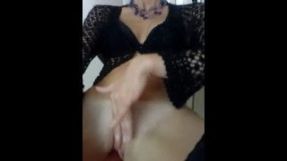 The Lela Love-webcam: masturbating bathing then another Masturbatio