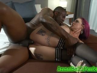 Amatuer Latina Creampie Big Tit Anna Bell Peaks Gets Stuffed By Monster Black Cock, Big