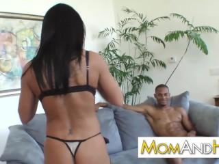 MILF mom Kendra Secrets loves black cock
