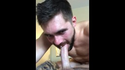 Griffin Barrows Devouring Hung Stud Miles -- Lots of drool