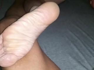 Size 12 Feet Puerto Rican Dad