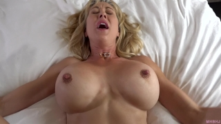When the husband is away, the MILF will play! (Brandi Love) First femdom