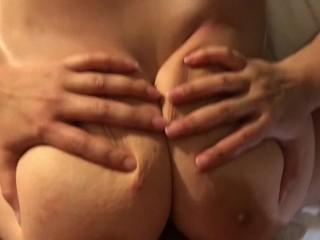 Sliding into one BBW G Titts