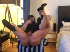 Squirting Cum from my Just Fisted Pussy