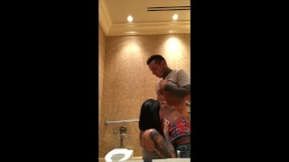 Fucking Tia on bby changing table in public restroom while she's on period  old and young horny af messy cocksucking public young kink dont get caught petite rough tattoos risky teenager las vegas hotel