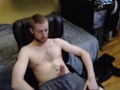 SEXY BIG UNCUT DICK CUM HORNY CAM MODEL FREAKYKNIGHT DAVE NAZAR CHATURBATE