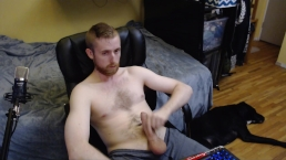 HORNY GAY CAM MODEL STROKES BIG UNCUT DICK ON CHATURBATE LIVE. NO CUM SHOT