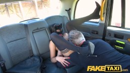 Fake Taxi Horny mysterious Masked Maya returns for big taxi cock