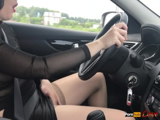 Masturbating while Driving