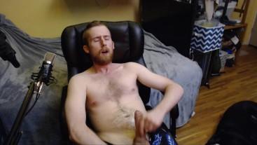 BIG UNCUT DICK JERK CUM SHOT ON HAIRY CHEST HORNY CAM MODEL LIVE AUDIENCE