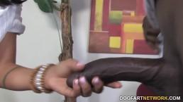 Cougar Zoe Holloway Fucks Her Patient's Big Black Cock