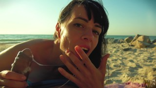 Risky public blowjob on the beach.Travel diaries pt1  cumshot surprise amateur blowjob point of view sperm play public beach sex outdoor outside amateur blowjob cumshot public pov risky blowjob russian teen cum on face russian amateur