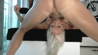 Time ffm with raelilblack pov view hardcore my first threesome extra huge