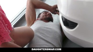Step fucking dads each is daughterswap others fun harper step