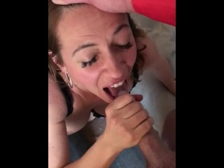 I want a facial and hot cum web i come home everyday !