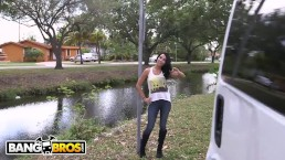 BANGBROS - Latin Cutie, Mia Hurley, Is In Miami For Spring Break... & Dick