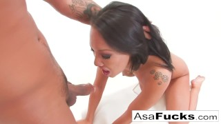 Asa's anal fisting and fucking creampie  doggy style slim asian cumshot tattoo skinny missionary fisting japanese brunette petite asafucks anal perky tits trimmed pussy