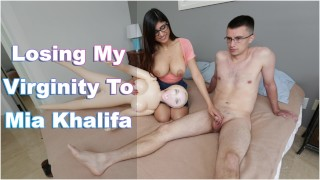MIA KHALIFA - Nerdy Fan Loses His Virginity To His Favorite Pornstar  big tits babe licking glasses miakhalifa lebanese cock sucking interracial brunette cowgirl arab pussy licking bald pussy hand job full figure