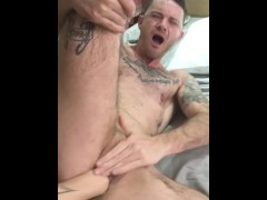 Intense FTM fisting video! Watch more on Only Fans!