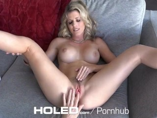 HOLED TIMELESS MILF Cory Chase dripping anal creampie