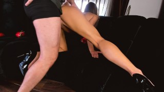 Wife surprise hot strip dance wife