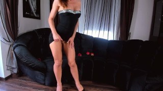 HOT WIFE STRIP SURPRISE Mother son