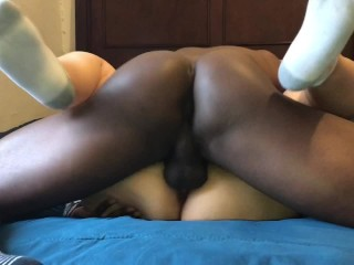 Latina vs bbc scortching hot missionary afterschool (she begs for milk in Spanish)