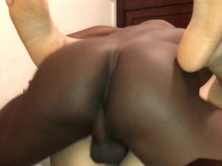 38 seconds of HOT interracial missionary closeup (pussy felt soo wet n gud)
