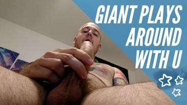 Giant plays around with you, mind control, cum play