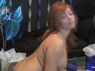 chasity merlow birthday party hottest big tits and ass solo