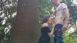 public outdoor blowjob