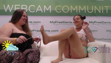 Gem Stoned~Electro Slut Training at Exxxotica with Summer Raines