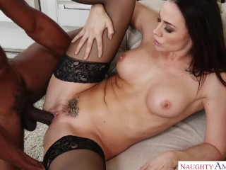 Retro Stockings Fuck Fucking, Chanel Preston Hotwifing the Mechanic Big ass Big Tits Blowjob Hardcor