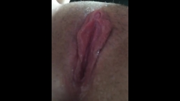 Teen Showing and Playing With Soaking Wet Pussy