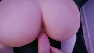 ALL HOLES FUCKED Step Sister TEEN - Blowjob deepth, Pussy, Anal and Facial. Farts moms